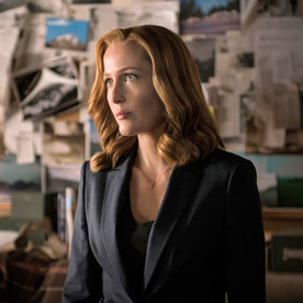 X Files Style Scullys Fashion Evolution InStylecom
