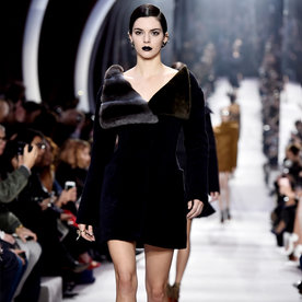 Kendall Jenner Hits the Runway at Dior's #PFW Show