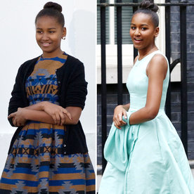 Celebrate Sasha Obama's 15th Birthday with a Look Back at Her Style Evolution