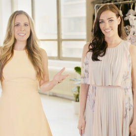 Style Me Pretty's Abby Larson Shares an Awesome Rustic Wedding Outfit Trick