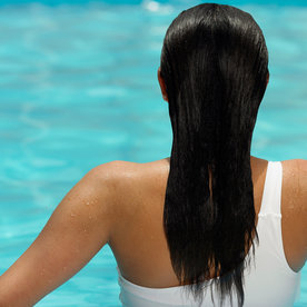 How to Protect Fine Hair from Chlorine... Because Summer