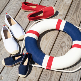 Why We're Obsessed with These Neoprene (Yes, Neoprene!) Espadrilles