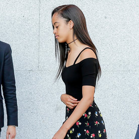Malia and Sasha Obama Rock Summer's Hottest Trends at Once in Spain