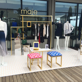 Maje Brings French Girl Fashion to Montauk