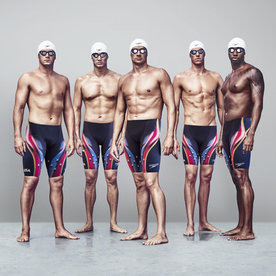 See the 2016 U.S. Men's Olympic Swim Team in Their Shirtless Glory