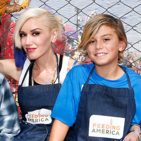 Gwen Stefani's Son Kingston Face Swaps with Blake Shelton and Sings His Song