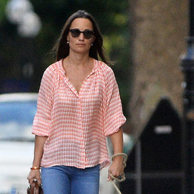 Pippa Middleton Perfects Off-Duty Summer Style While Out for a Stroll with Her Dog