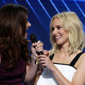 "Watch Kristen Bell, Idina Menzel, and More Perform ""What the World Needs Now Is Love"" at the DNC"
