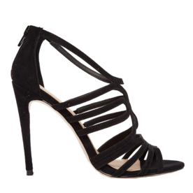 Caged%C2%A0Heeled+Sandals