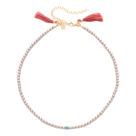 <p>Rose Choker Necklace</p>