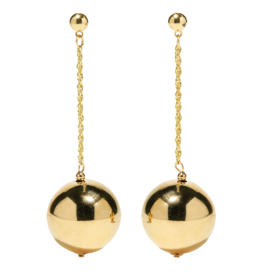 Gold-Plated+Earrings