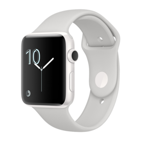 White Ceramic Case with Cloud Sport Band
