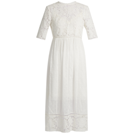 Caravan+Embroidered+Cotton+Dress