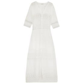Beth%C2%A0Lace-Paneled%C2%A0Maxi+Dress