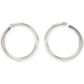 Silver+Hoop+Earrings