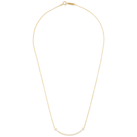 18-Karat+Gold+Diamond+Necklace
