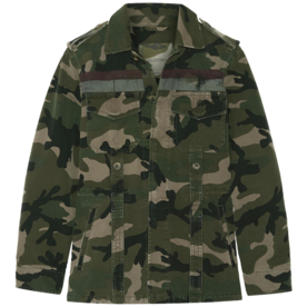 Striped+Camouflage-Print%C2%A0Jacket
