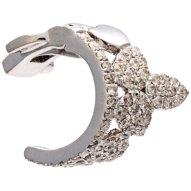 Diamond+Clip-On+Ear+Cuff