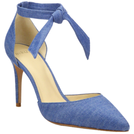 Cristinah+Denim+d%27Orsay+Ankle-Strap+Pumps