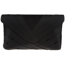 Labreya+Pleated+V-Flap+Clutch