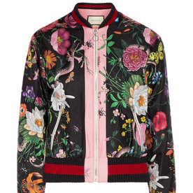 Printed+Silk-Satin+Bomber+Jacket