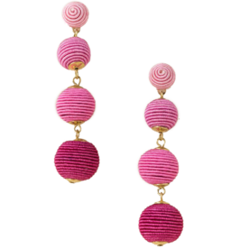 Lisette+Bauble+Ball+Drop+Earring+in+Neon+Pink