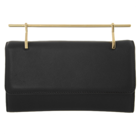 Fabricca+Leather+Clutch