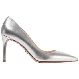 Metallic+Textured-Leather+Pumps