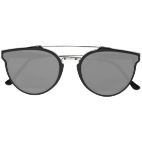 Giaguaro+Aviator-Style+Mirrored+Sunglasses