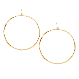 %27G+Ring%27+Hoop+Earrings