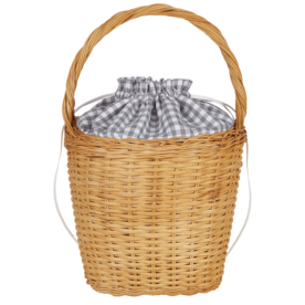 Lily+Gingham+Basket+Tote