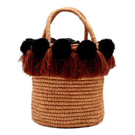 Pompom-Embellished+Straw+Basket+Bag