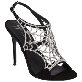 Embellished+Spiderweb+Sandal