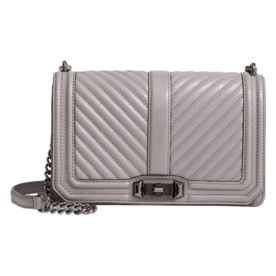 %27Chevron+Quilted+Love%27+Crossbody+Bag