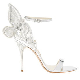 Chiara+butterfly-wing+leather+sandals