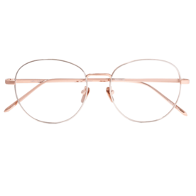 Round-frame+rose+gold+glasses