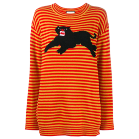 Striped Panther Sweater