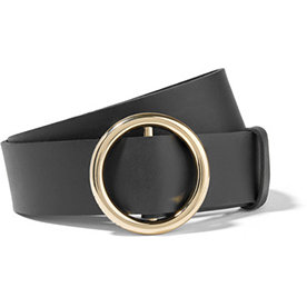 Circle+Leather+Belt