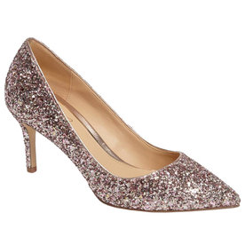 Lyla+Glitter+Pointy+Toe+Pump