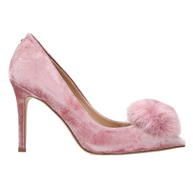 Haroldson+Pump+with+Faux+Fur+Pompom