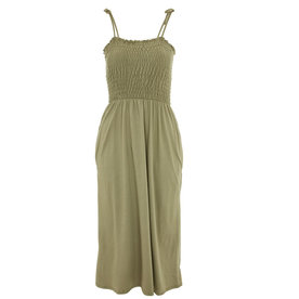 Topshop+Khaki+Midi+Dress
