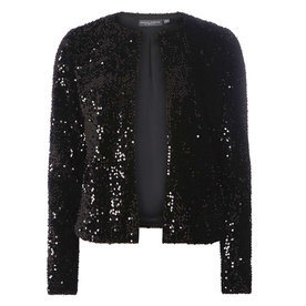 DOROTHY+PERKINS+BLACK+SEQUIN+BLAZER