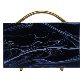 Eugene Small Marble Clutch