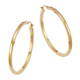 Yellow+Gold+Extra+Large+Hoop+Earrings%C2%A0