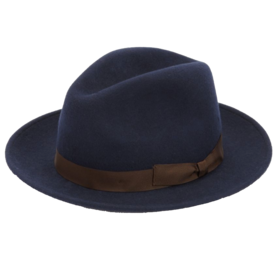 COLLECTION+Wide+Brim+Wool+Fedora+Hat