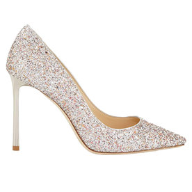 Romy+Glitter+Pointed-Toe+Pump