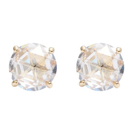 Crystal+Stud+Earrings