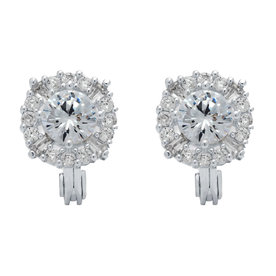 Cubic+Zirconia+Stud+Earrings