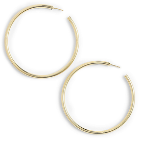 Large+Sleek+Tube+Hoop+Earrings