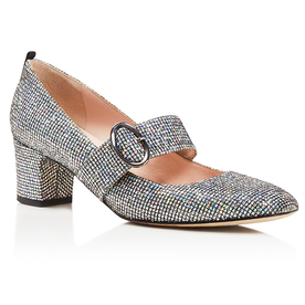 Tartt+Metallic+Mary+Jane+Mid+Heel+Pumps